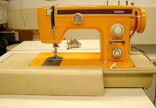 Sewing-machine-orange