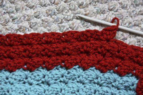 Holly\'s Crocheted Afghan Pattern - Red Velvet Art Blog