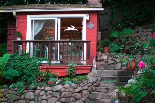 Front tiny house