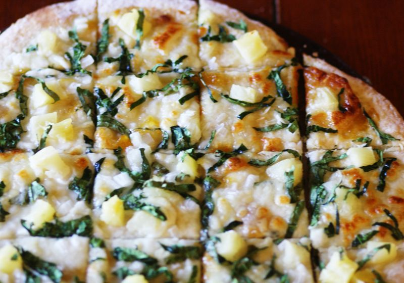 Spinachpizza